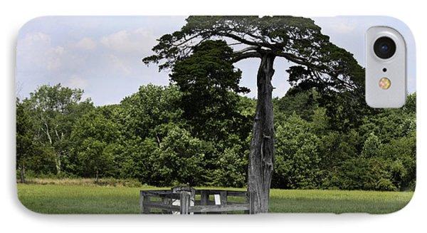Confederate Grave Of Lafayette Meeks Appomattox Virginia Phone Case by Teresa Mucha