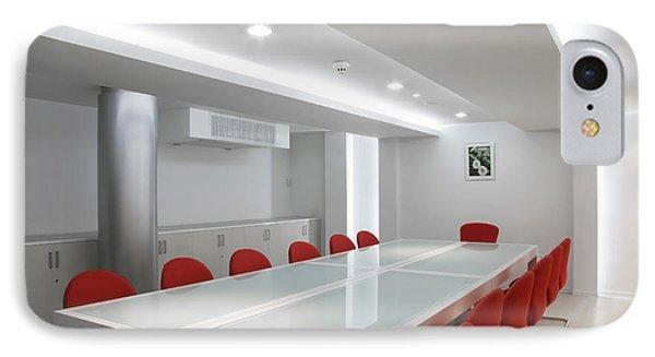 Conference Room Interior Phone Case by Setsiri Silapasuwanchai