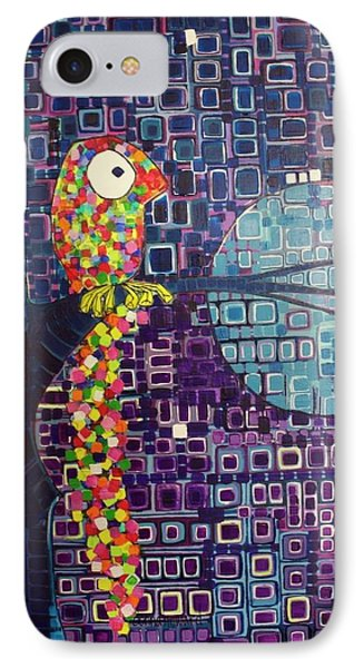 Confetti Bird IPhone Case by Donna Howard