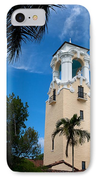 IPhone Case featuring the photograph Congregational Church Of Coral Gables by Ed Gleichman