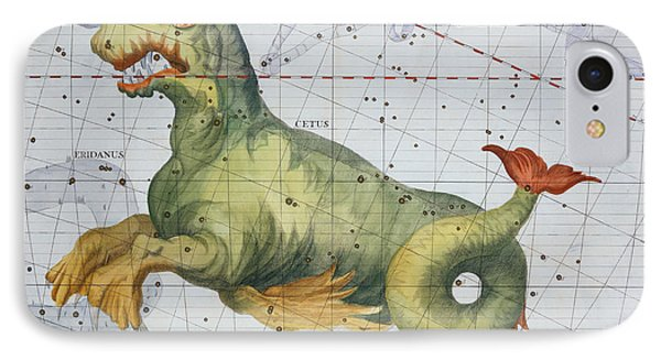 Constellation Of Cetus The Whale IPhone Case by James Thornhill