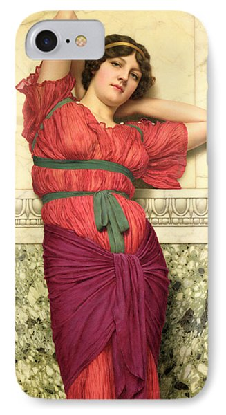 Contemplation Phone Case by John William Godward