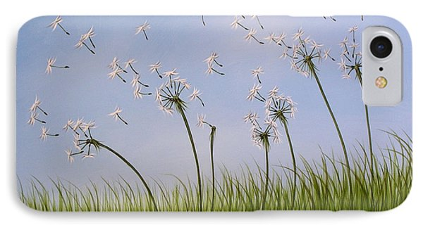 Contemporary Landscape Art Make A Wish By Amy Giacomelli IPhone Case by Amy Giacomelli