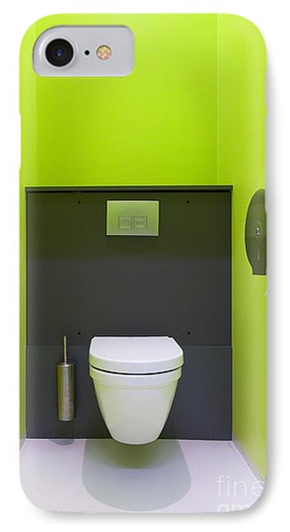 Contemporary Toilet IPhone Case