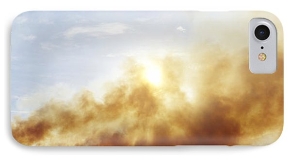Controlled Burn Masai Mara Game Reserve Phone Case by Jeremy Woodhouse