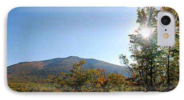 Conway Scenic Railroad  - Longtrack View Phone Case by Geoffrey Bolte