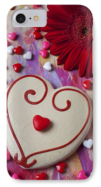 Cookie And Candy Hearts Phone Case by Garry Gay