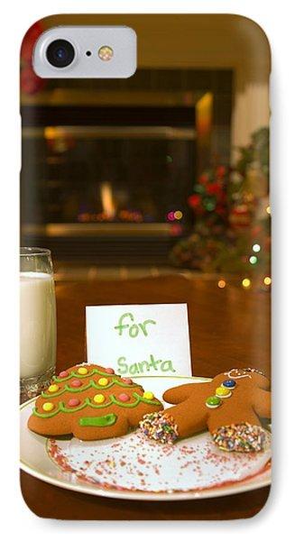Cookies For Santa Claus IPhone Case