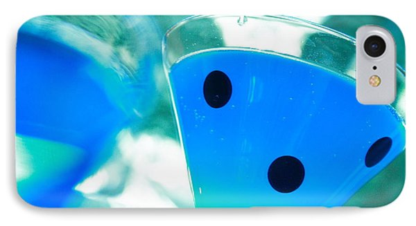 Cool Blue  Phone Case by Toni Hopper