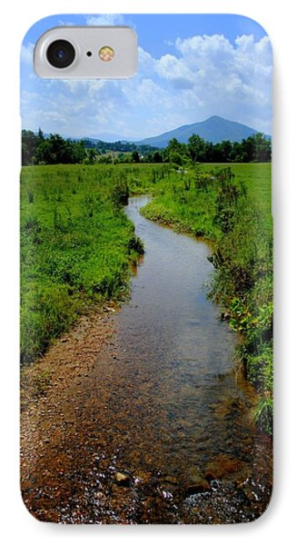 Cool Mountain Stream Phone Case by Frozen in Time Fine Art Photography