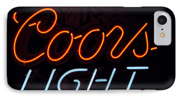 Coors Light Phone Case by Juls Adams
