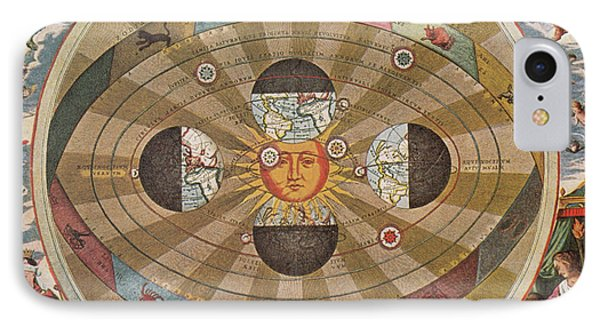 Copernican World System, 17th Century Phone Case by Science Source