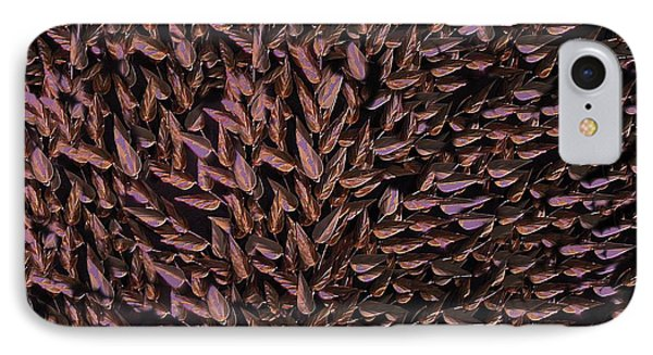 Copper Leaf Phone Case by David Dehner
