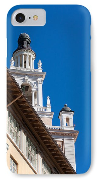 IPhone Case featuring the photograph Coral Gables Biltmore Hotel Tower by Ed Gleichman
