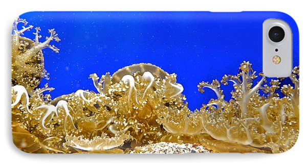Coral Like Golden Crowns IPhone Case by Kirsten Giving