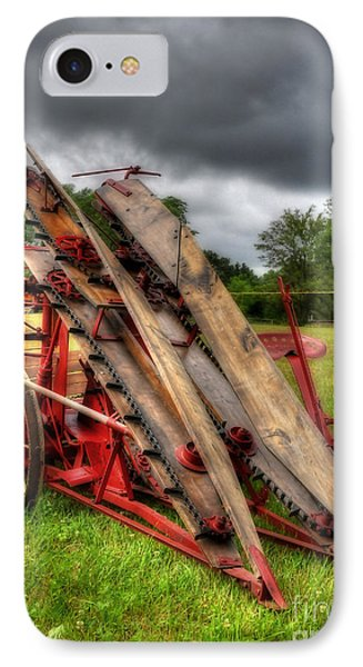 IPhone Case featuring the photograph Corn Binder by Trey Foerster