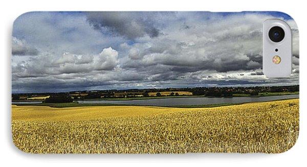 Corn Field Panorama Phone Case by Heiko Koehrer-Wagner