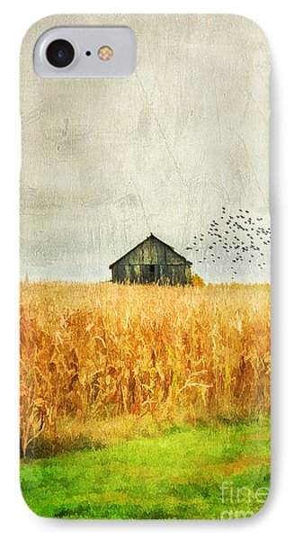 Corn Fields Of Kentucky Phone Case by Darren Fisher