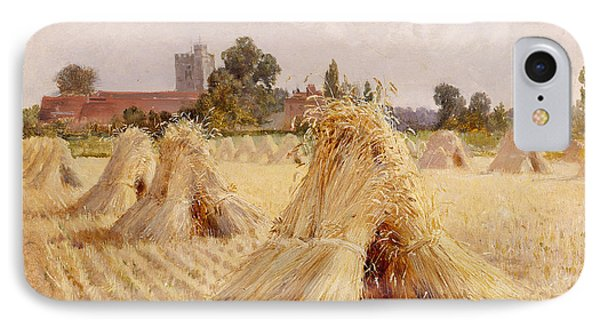 Corn Stooks By Bray Church IPhone Case