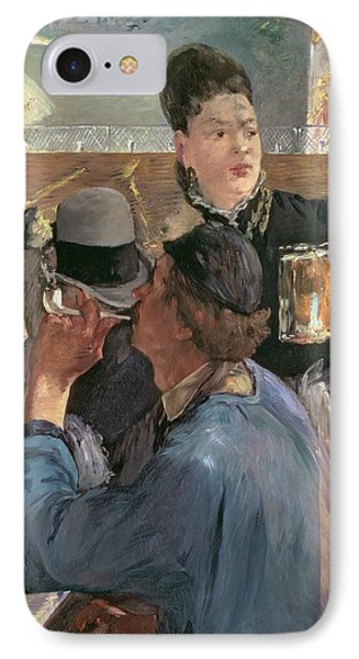 Corner Of A Cafe-concert IPhone Case by Edouard Manet