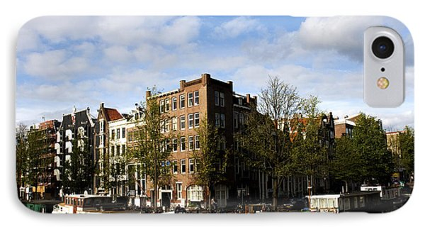 Corner Of Prinsengracht And Brouwersgracht Phone Case by Fabrizio Troiani
