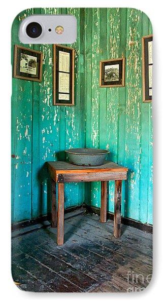 Corner Of Slave Cabin At San Francisco Plantation Phone Case by Kathleen K Parker