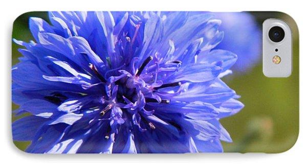 Cornflower Blue Phone Case by Sharon Lisa Clarke