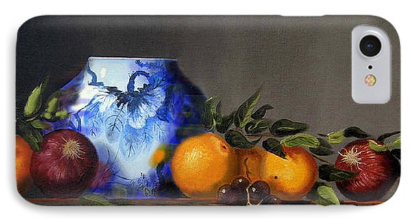 IPhone Case featuring the painting Cornucopia by Barry Williamson