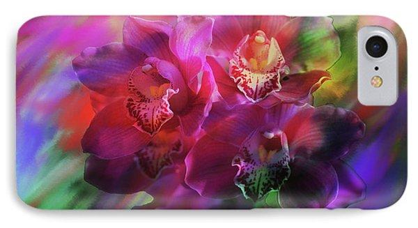 Coronation Orchids  IPhone Case