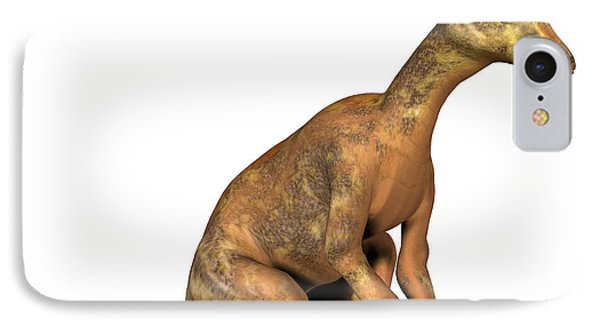 Corythosaurus Dinosaur Phone Case by Friedrich Saurer