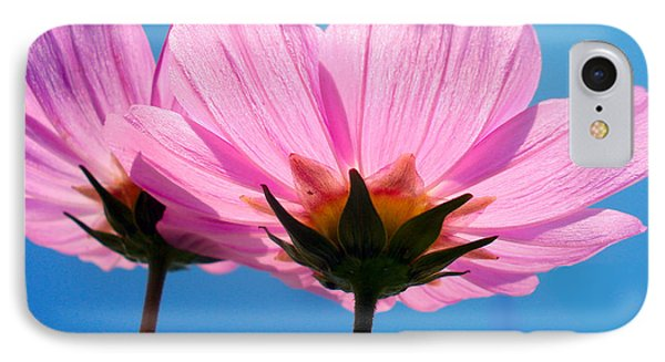 Cosmia Flowers Pair Phone Case by Sumit Mehndiratta