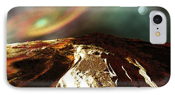 Cosmic Landscape Of An Alien Planet Phone Case by Corey Ford