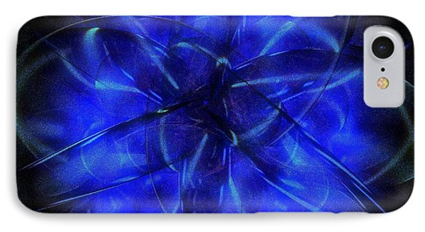 IPhone Case featuring the digital art Cosmic Light by Greg Moores