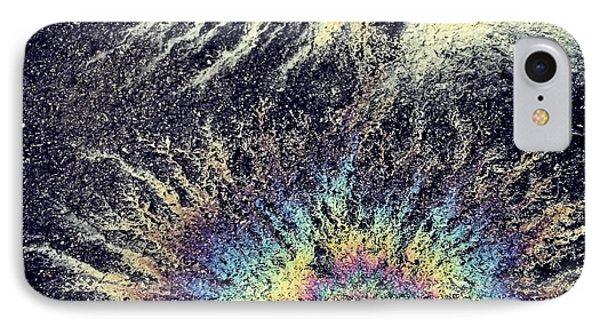Cosmic Oil-b IPhone Case by KG Thienemann