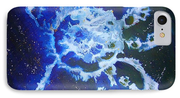 Cosmic Release IPhone Case by Mary Kay Holladay