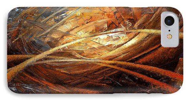 Cosmic Strings Phone Case by Arthur Braginsky