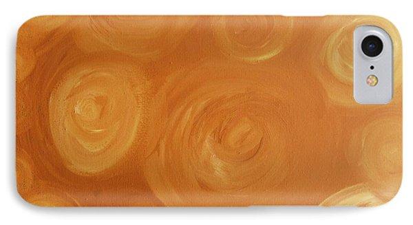 Cosmic Swirls Beige Phone Case by Jeannie Atwater Jordan Allen