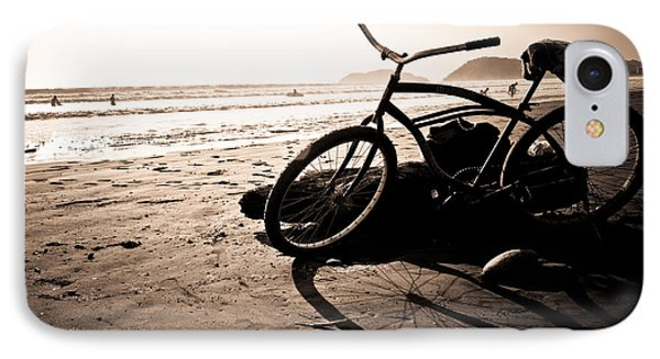 Costa Rican Beach Cruiser IPhone Case by Anthony Doudt