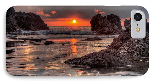 Costa Rican Sunset IPhone Case by Anthony Doudt