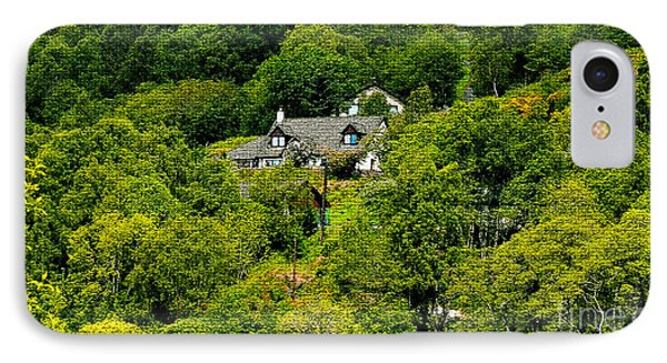 Cottage In The Woods Phone Case by Pravine Chester