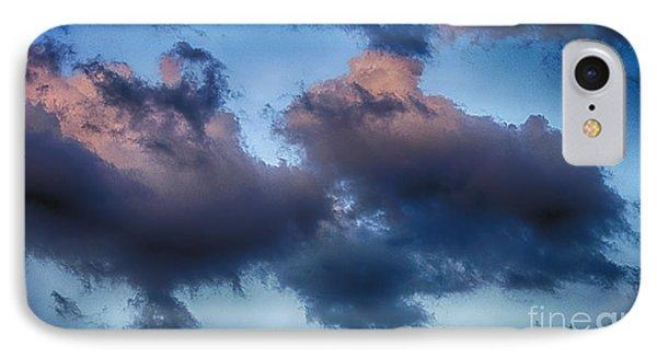 Cotton Candy Sunset Phone Case by Jeremy Linot