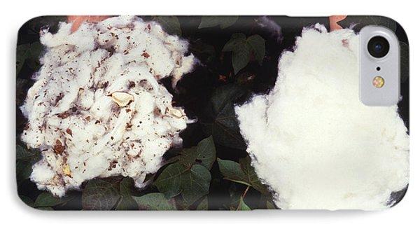 Cotton Comparison Phone Case by Photo Researchers