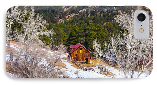 IPhone Case featuring the photograph Country Barn by Shannon Harrington