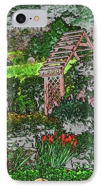 Country Gardens Phone Case by Debra     Vatalaro