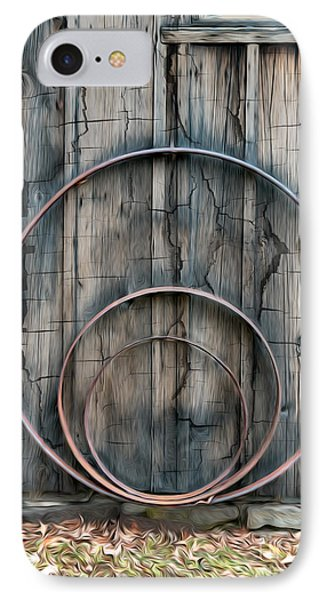 Country Rings IPhone Case by Susan Candelario