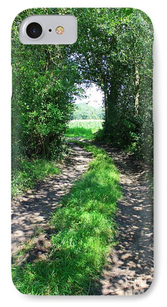 Country Road Phone Case by Carol Groenen
