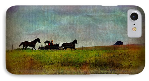 Country Wagon 2 Phone Case by Perry Webster