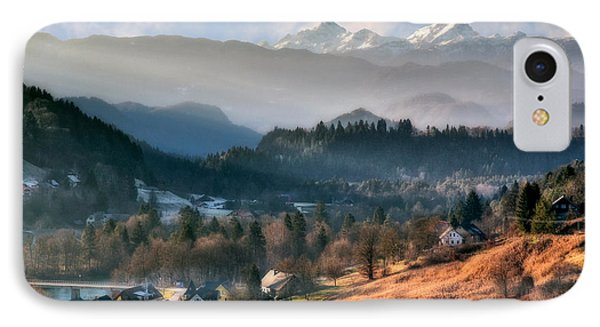 Countryside. Slovenia IPhone Case by Juan Carlos Ferro Duque