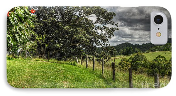 Countryside With Old Fig Tree Phone Case by Kaye Menner
