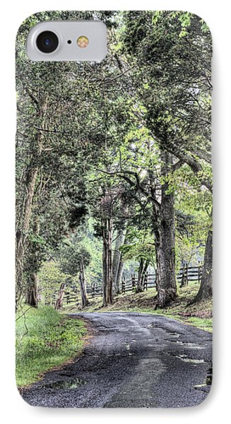County Roads Phone Case by JC Findley
